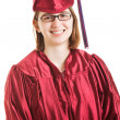 Smiling Female Graduate — Stock Photo