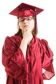 Intellectual Graduate — Stock Photo