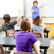 Teaching High School Algebra - Stock Photo
