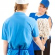 Time To Mop Up - Stock Photo
