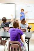Teaching High School Algebra — Stock Photo
