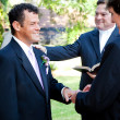 Stock Photo: Gay Marriage - With This Ring