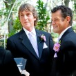 Stock Photo: Gay Couple Says Wedding Vows