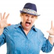 Middle-aged Woman - Fear — Stock Photo