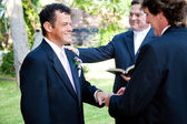 Gay Marriage - With This Ring — Stock Photo