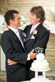 Gay Couple - Committed For Life — Stock Photo