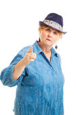 Middle-aged Woman - Bossy — Stock Photo