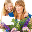 Stock Photo: Mother and Daughter Mothers Day
