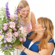 Stock Photo: Flowers for Mother