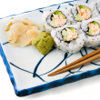 Stock Photo: Sushi - California Roll