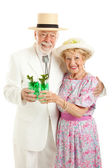 Celebrating Kentucky Derby Day — Stock Photo
