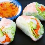 Sushi Spring Rolls — Stock Photo