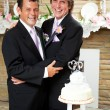 Stock Photo: Gay Marriage - Wedding Reception