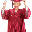 Senior Graduate - Thrill of Achievement — Stock Photo #27314669