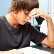 Academic Testing Anxiety — Stock Photo