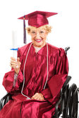 Never Too Old For Education — Stock Photo