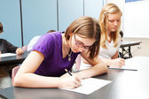 High School Academic Testing — Stock Photo