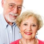 Portrait of Happy Senior Couple — Stock Photo #28876963