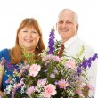Flowers For the Wife — Stock Photo