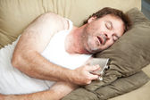 Alcoholic Passed Out Drunk — Stock Photo