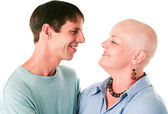 Cancer Patient and Husband In Love — Stock Photo