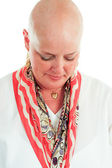 Cancer Survivor - Hair Loss — Stock Photo