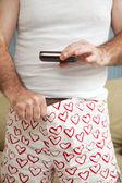 Weiner Photo - Sexting — Stock Photo