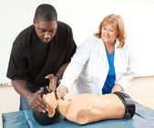 CPR Training - Adult Education — Stock Photo