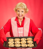 Grandmothers Home-baked Cookies — Stock Photo