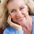 Beautiful Middle Aged Blond — Stock Photo