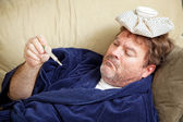 Home Sick From Work — Stock Photo