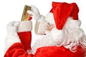 Santa Claus - Stocking Stuffer — Stock Photo