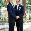 Gay Wedding Couple - In Love — Stock Photo