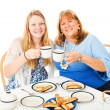 Mother Daughter Tea Party — Stock Photo