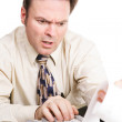 Tax Accountant with Bad News — Stock Photo