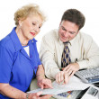 Accountant with Client — Stock Photo #43450535