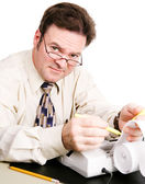 Accountant — Stock Photo