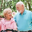 Active Senior Bikers — Stock Photo #45367049