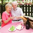 Senior Couple - Picnic — Stock Photo #45367071