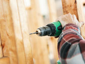 Construction Site - Drilling — Stock Photo