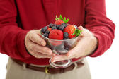 Bowl of Healthy Berries — Stock Photo