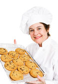 Baker with Cookies — Foto de Stock