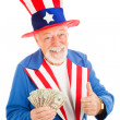 Uncle Sam - Economic Recovery — Stock Photo #6511921