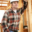 Thoughtful Construction Worker — Stock Photo #6671465