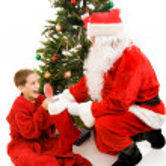 Presents from Santa — Stock Photo #6684607
