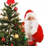 Santa Claus Shhhhhh — Stock Photo #6684610
