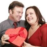 Cute Valentine Couple — Stock Photo #6716676