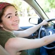 Pretty Teen Driver — Stock Photo #6717912