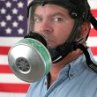 American Gas Mask Vertical — Stock Photo #6779008