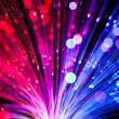 Optical fiber lighting — Stock Photo #13140175